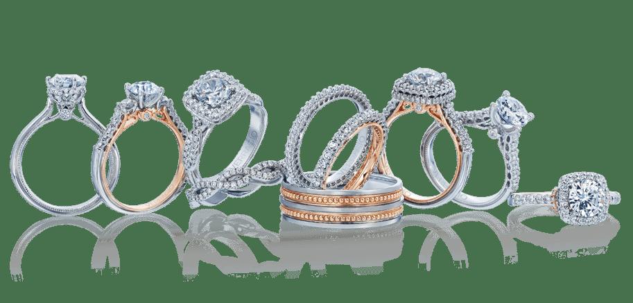 Custom Halo Engagement Rings Dallas Texas