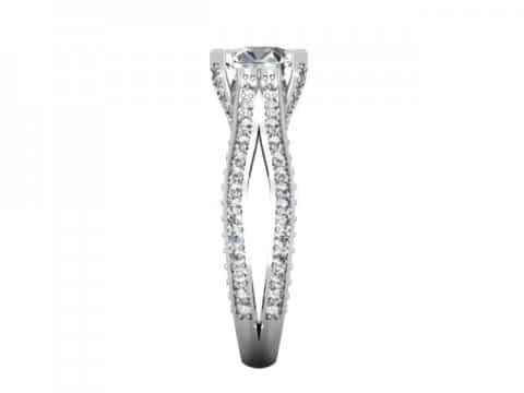 Custom Heart Diamond Rings Dallas Shira Diamonds Dallas 2 1, Shira Diamonds