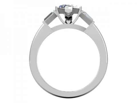 Custom Marquise Diamond Rings Dallas 4