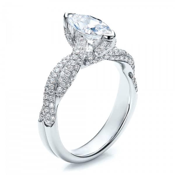 Custom Marquise Engagement Rings In Dallas Texas Wholesale Diamonds Shira Diamonds Dallas 1, Shira Diamonds