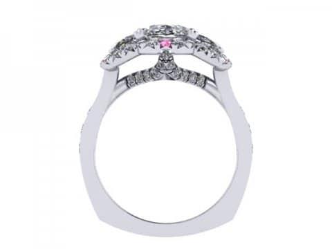 Custom Oval DIamond Rings Dallas 4 3, Shira Diamonds