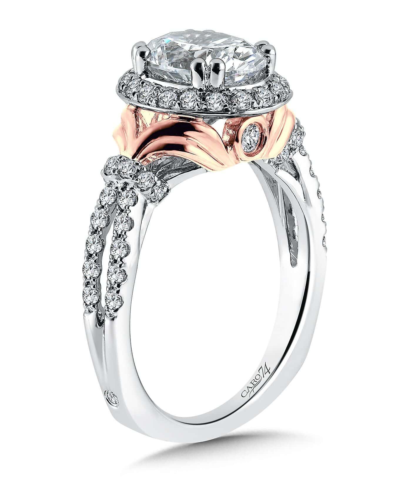 Custom Oval Diamond Ring 1