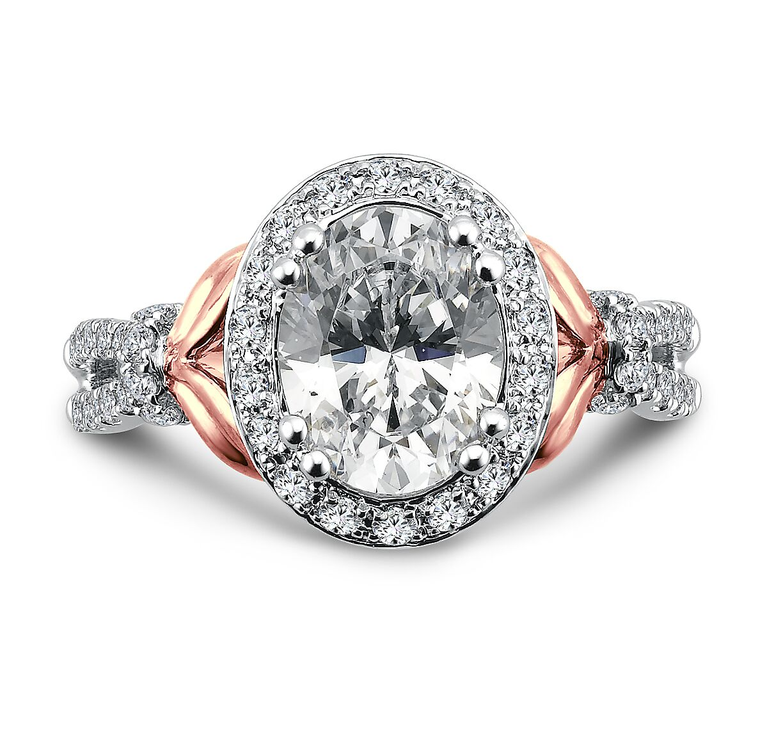Custom Oval Diamond Ring 2