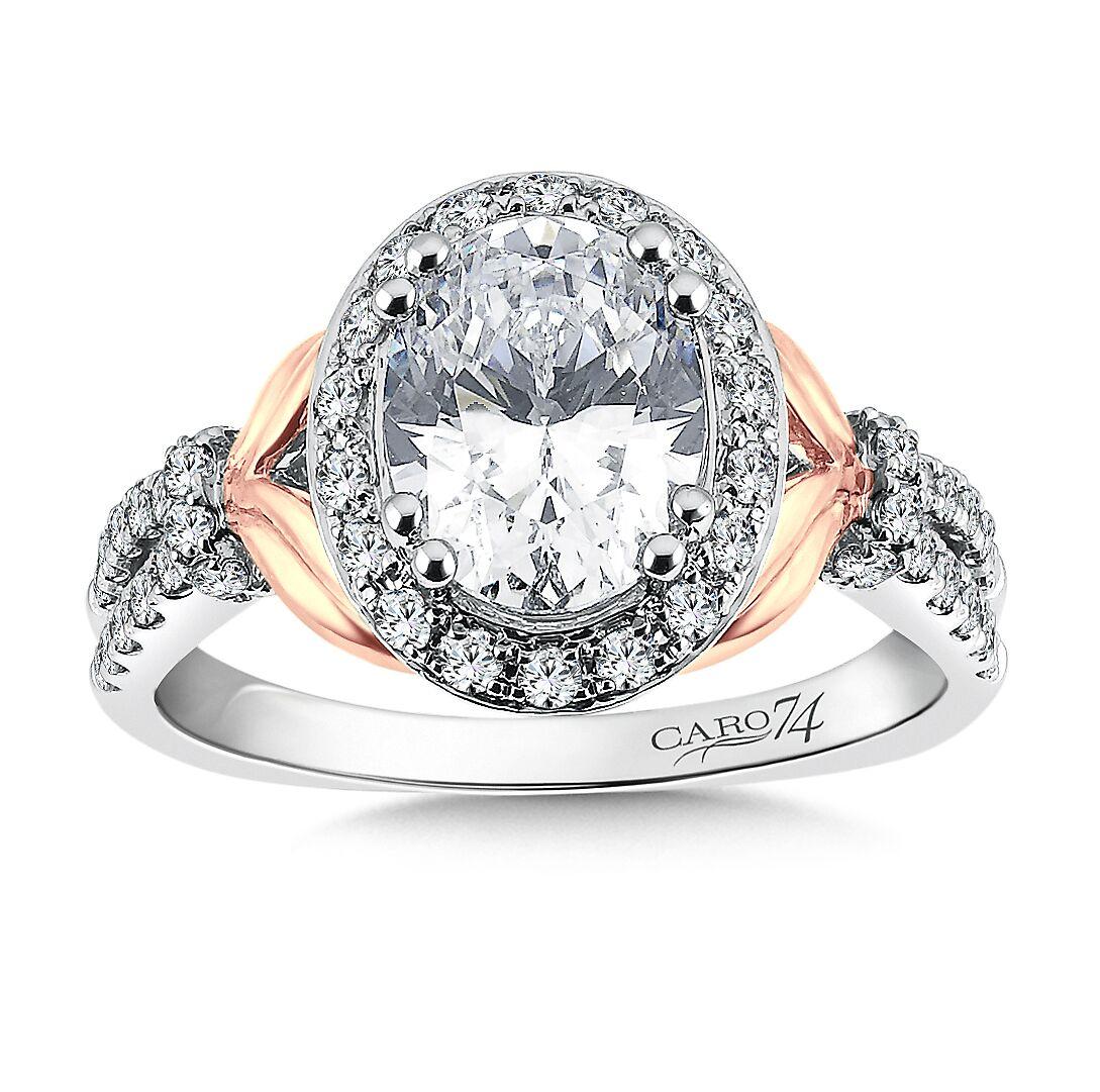 Custom Oval Diamond Ring 4