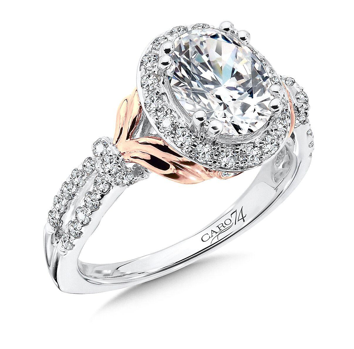 Custom Oval Diamond Ring 5, Shira Diamonds