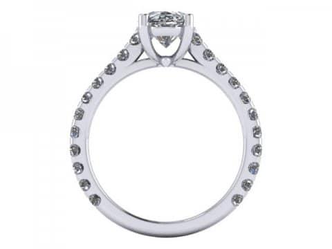 Custom Oval Diamond Rings Dallas 4 2, Shira Diamonds