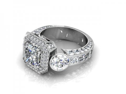 Custom Radiant Diamond Rings 1 Beaumont Texas 1 1 1, Shira Diamonds