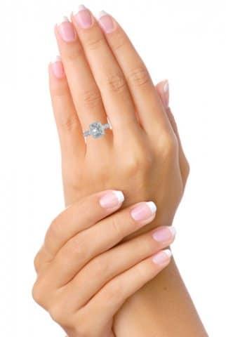 Custom Radiant Engagement Ring Halo Engagement Ring Dallas Texas 2, Shira Diamonds