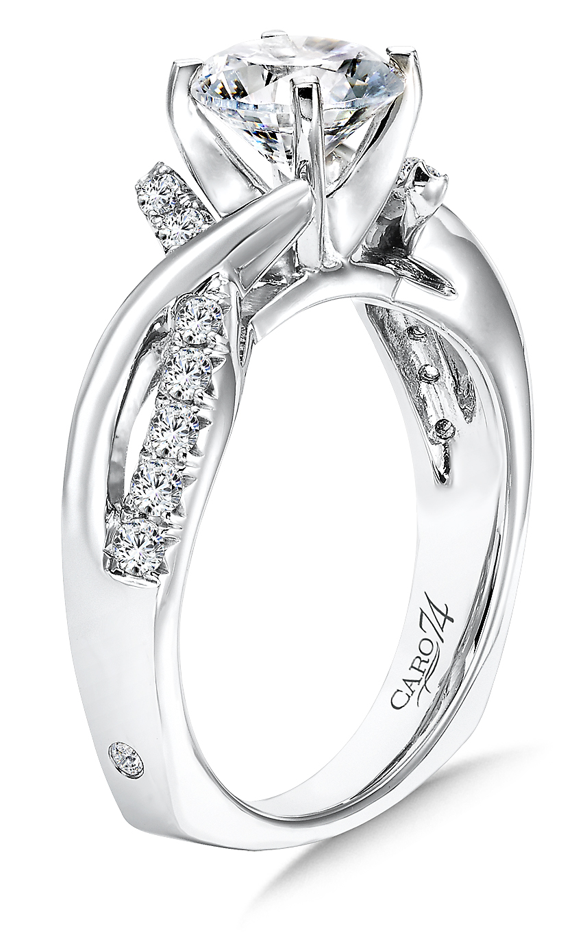 Custom Ring, Shira Diamonds