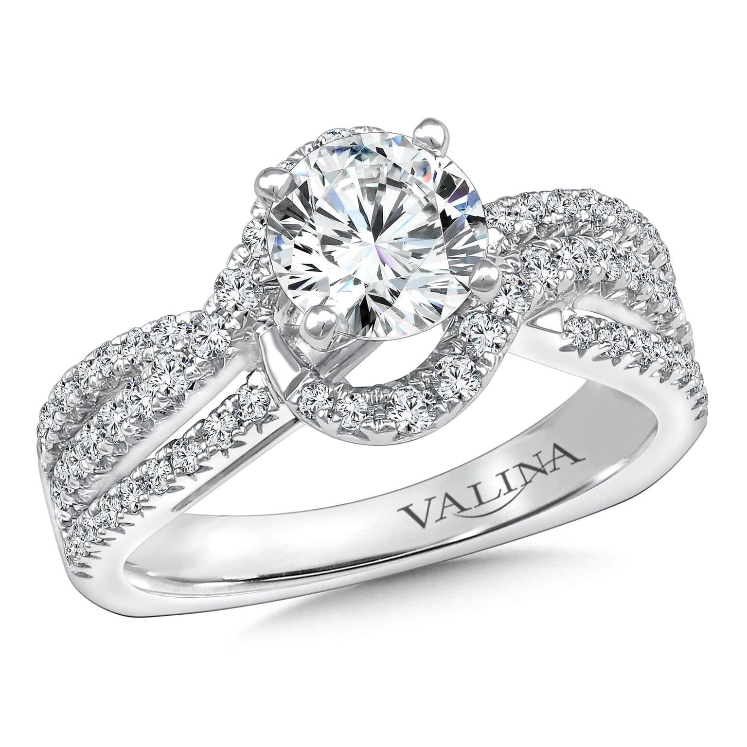 Custom Round Diamond Ring Dallas 3