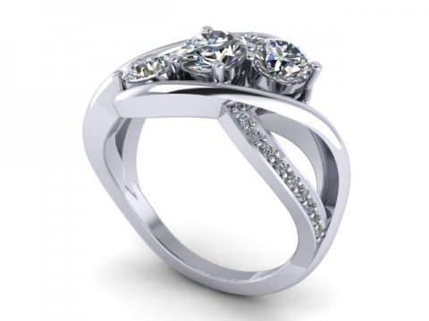Custom Round Diamond Rings In Dallas Custom Diamond Rings Dallas Texas 1, Shira Diamonds