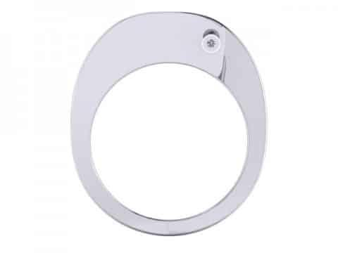 Custom Round Engagement Rings Dallas 4