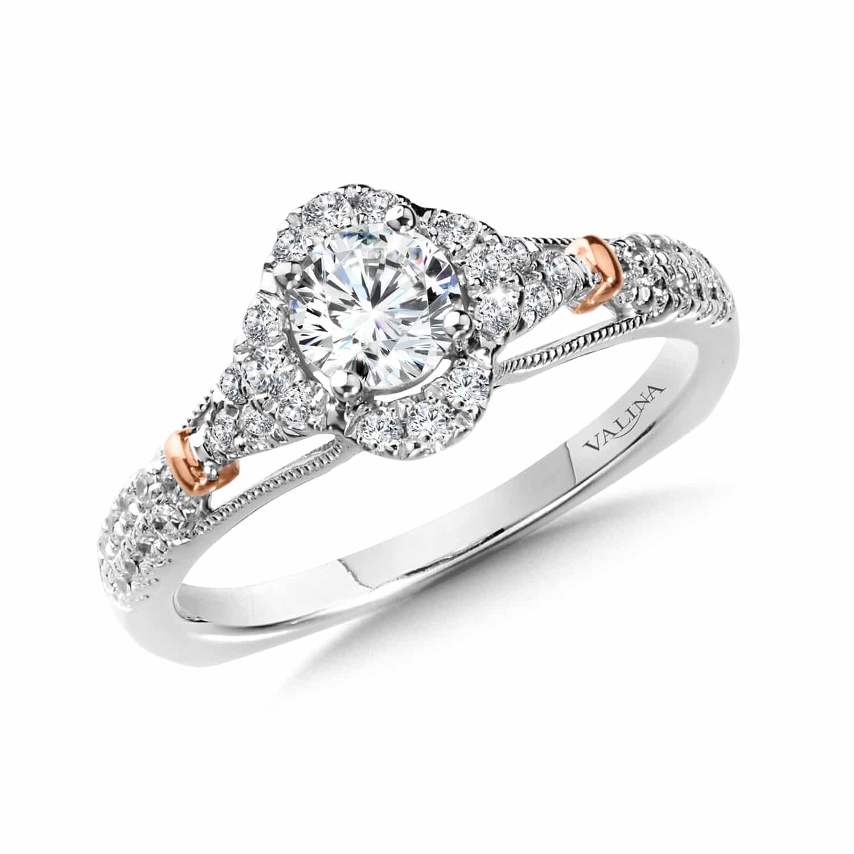 Custom Round Engagement Rings Dallas, Shira Diamonds