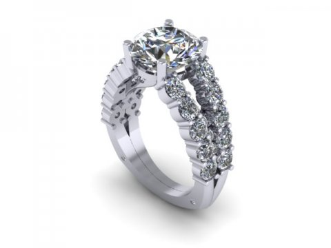 Custom Wholesale Diamond Rings Dallas 1 1, Shira Diamonds
