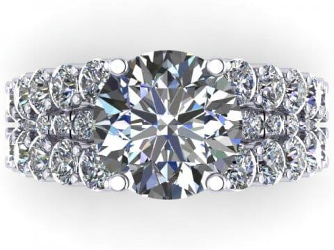 Custom Wholesale Diamond Rings Dallas 4 1, Shira Diamonds