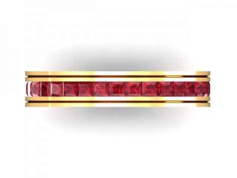 Custom ruby wedding band dallas 4