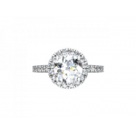 Custom Halo Diamond Rings Grand Prairie, Shira Diamonds
