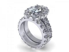 Custom_Oval_Halo_Diamond_Rings_Dallas_1