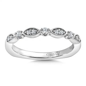 Custom_Round_Bezel_Wedding_Band_Dallas
