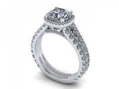 Custom_Round_Halo_Diamond_Rings_Dallas_1