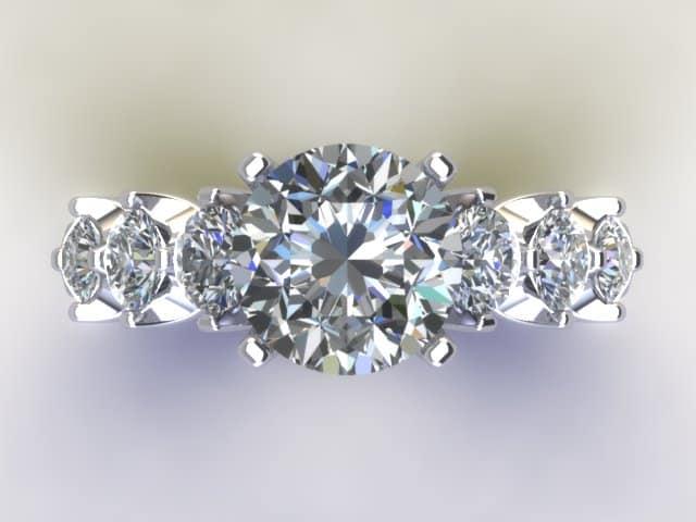 Cutom Diamond Rings Dallas 7, Shira Diamonds