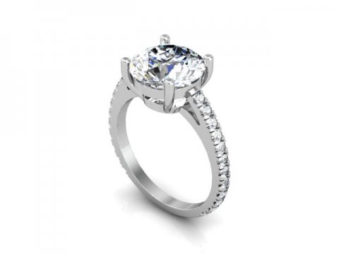 Diamond Rings Dallas 1 2, Shira Diamonds