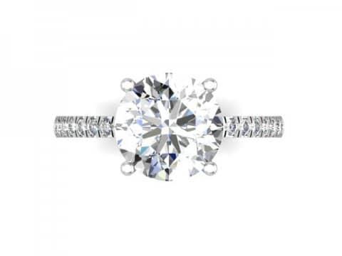 Diamond Rings Dallas 4, Shira Diamonds