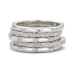 Diamond Stackable Ring Makes An Innovative Fashion Statement, Shira Diamonds