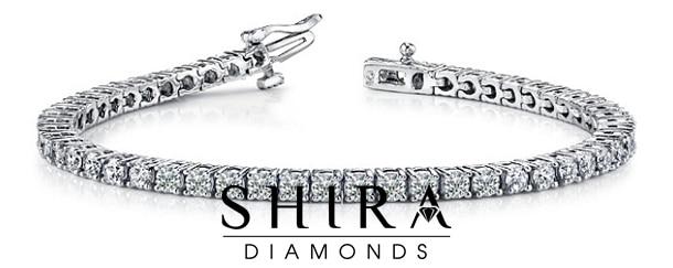 Diamond Tennis Bracelet 7 Carat - Shira Diamonds Dallas Tx