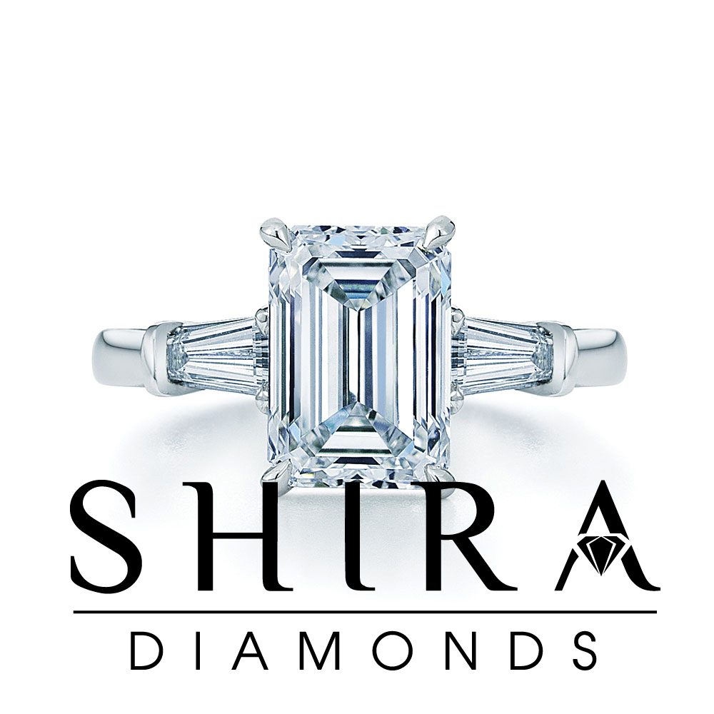 Emerald cut diamonds in Dallas - Emerald Diamonds - Shira Diamonds