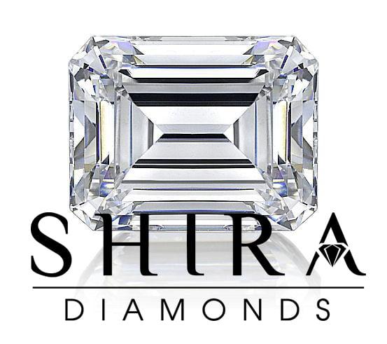Emerald Cut Diamonds   Shira Diamonds Dallas 3 1, Shira Diamonds