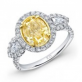 Fancy_Yellow_Diamond_Engagement_Rings_Dallas_Texas_Oval_Diamond