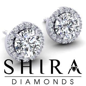 Halo_Diamond_Studs_at_Shira_Diamonds_in_Dallas_Texas