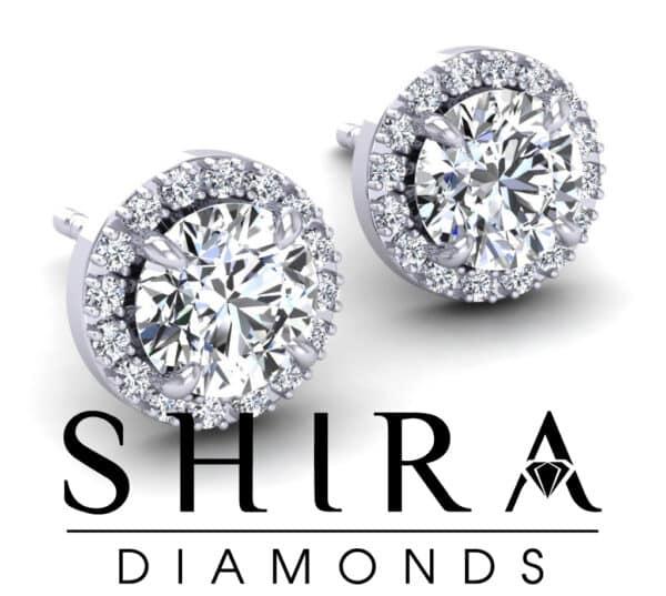 Halo_Diamond_Studs_at_Shira_Diamonds_in_Dallas_Texas