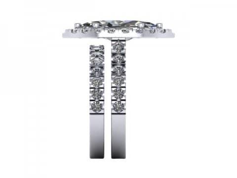 Marquise Cut Diamond Halo Engagement Rings 3, Shira Diamonds