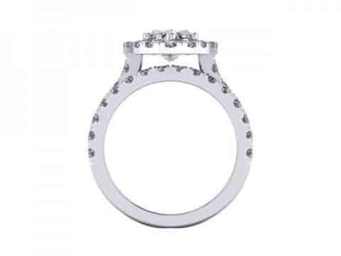 Marquise Cut Diamond Halo Engagement Rings 4, Shira Diamonds