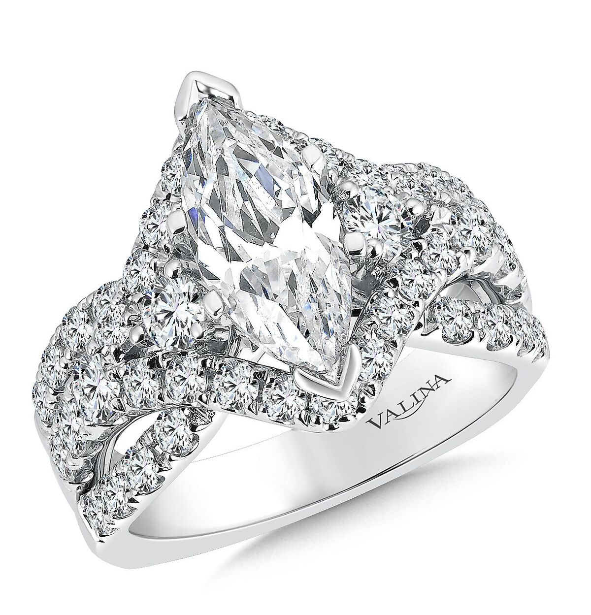 Marquise Diamond Engagement Ring - Wholesale Engagement Rings