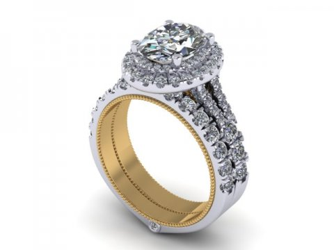 Oval Diamond Rings 1 1, Shira Diamonds