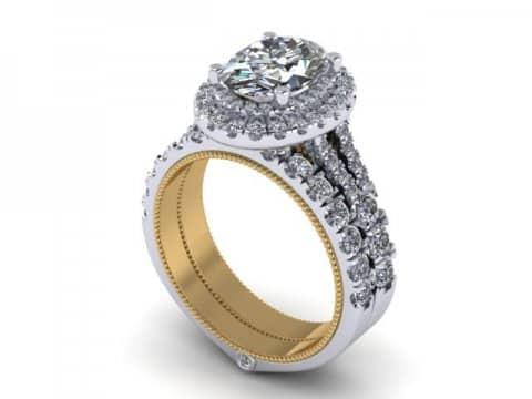Oval Diamond Rings 1 1, Shira Diamonds