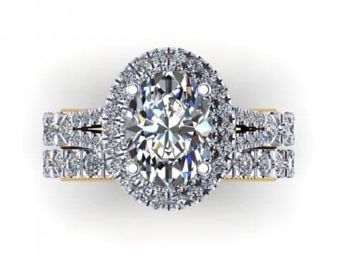 Oval Diamond Rings 2 1, Shira Diamonds