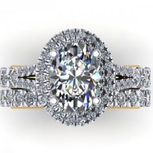 Oval Diamond Rings 2