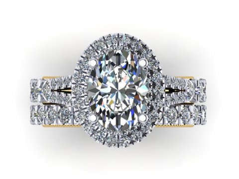 Oval Diamond Rings 2