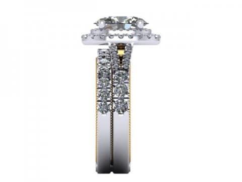 Oval Diamond Rings 3 1, Shira Diamonds