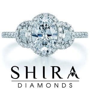 Oval Diamond Rings in Dallas Texas - Oval Diamonds Dallas - Shira Diamonds