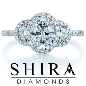 Oval Diamond Rings in Dallas Texas - Oval Diamonds Dallas - Shira Diamonds