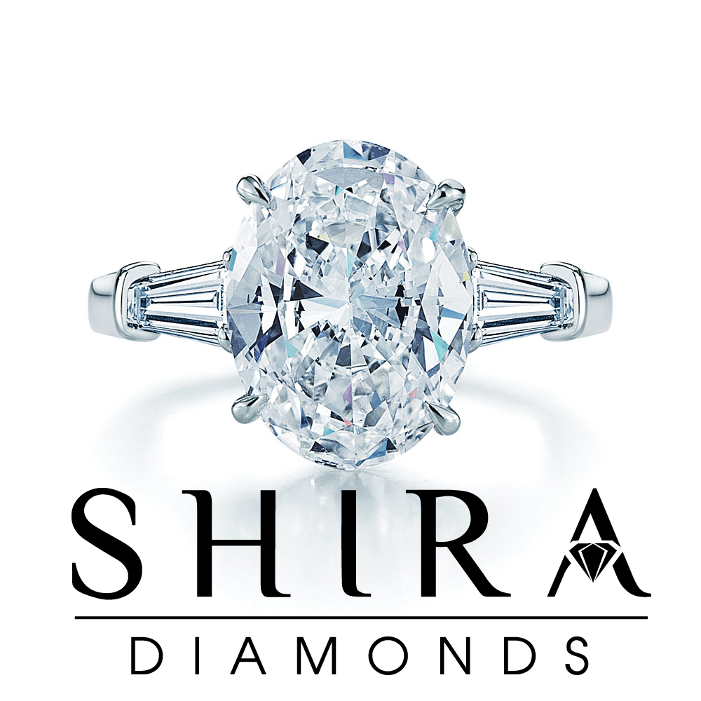 Oval Diamond Rings in Dallas Texas - Shira Diamonds
