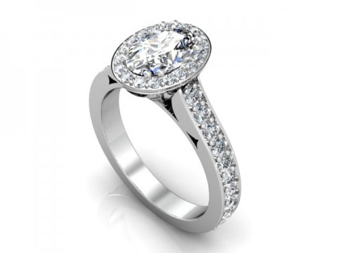 Oval Halo Engagement Rings Oval Diamond Rings Custom Oval Engagement Rings 1, Shira Diamonds