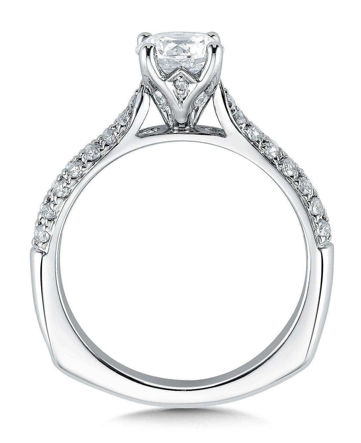 Pave Diamond Engagement Rings Dallas Texas Pave Engagement Rings In Texas Shira Diamonds , Shira Diamonds