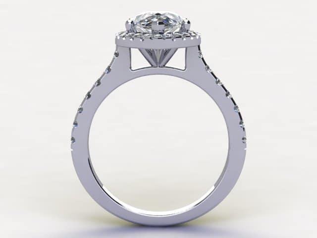 Pear Diamond Ring3