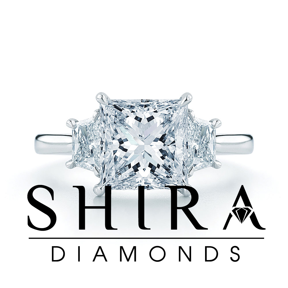 Princess Diamond Rings in Dallas Texas - Shira Diamonds - Princess Diamonds Dallas